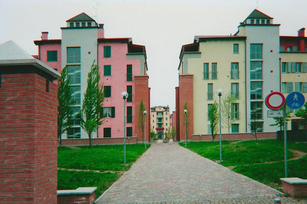 """Complesso residenziale """"Le Corti"""" – Correggio (RE)"""